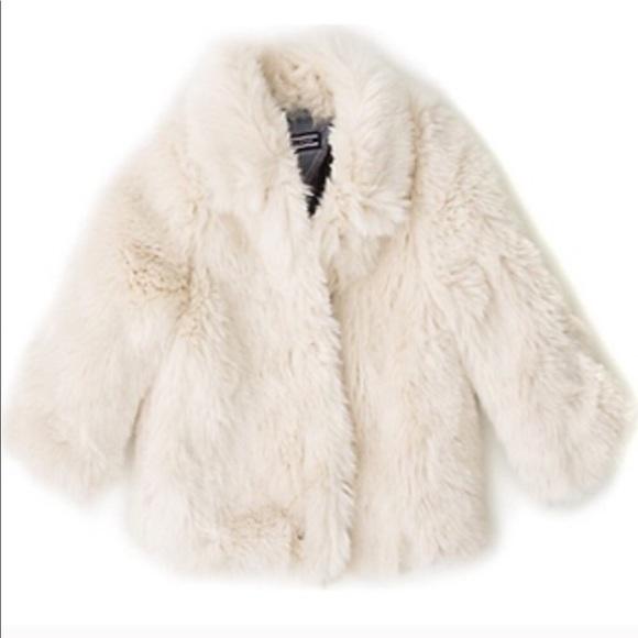 e0390c04f5684 Tommy Hilfiger Snow White Kids Faux Fur Coat